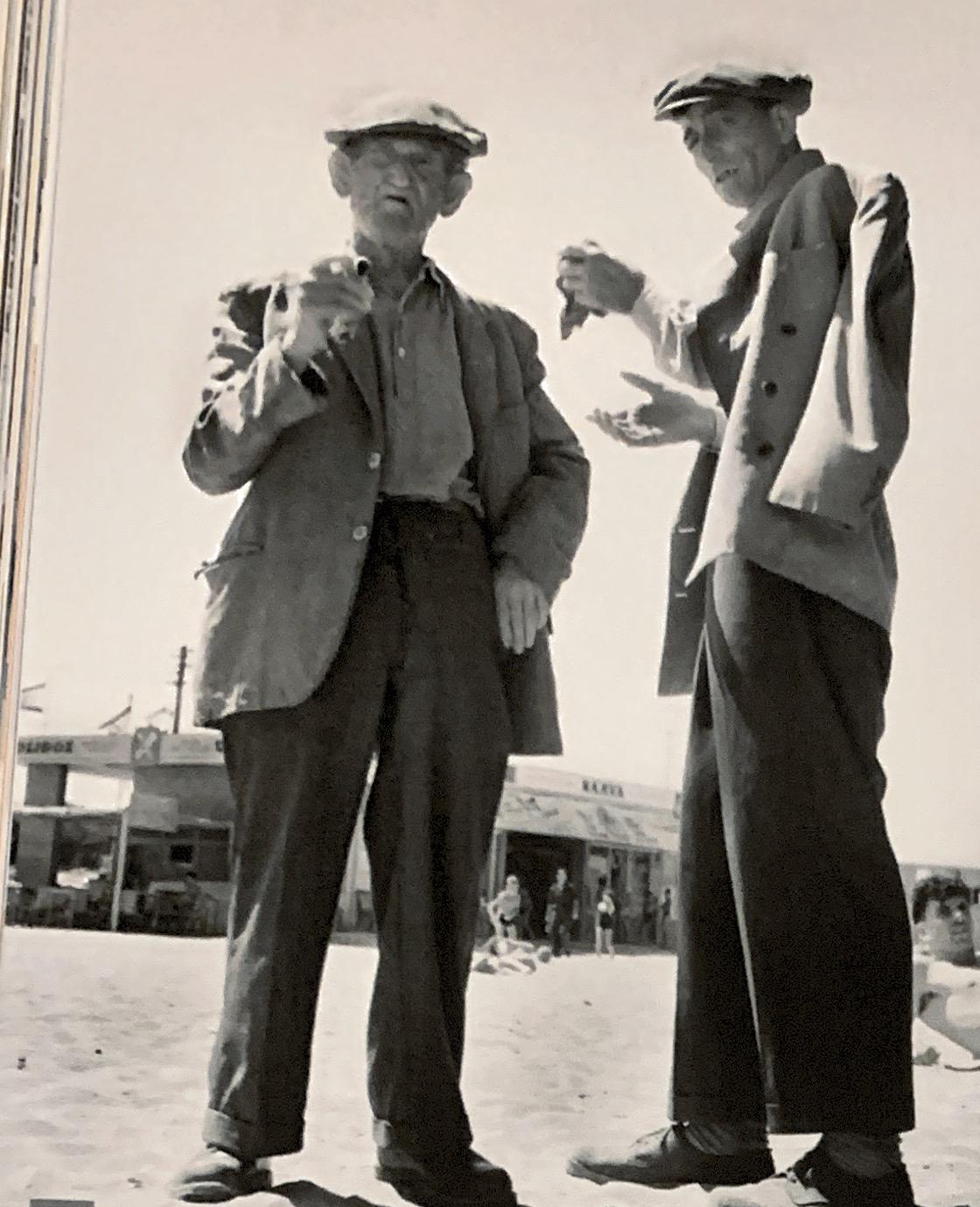 עולים חדשים במעברה נהריה 1955